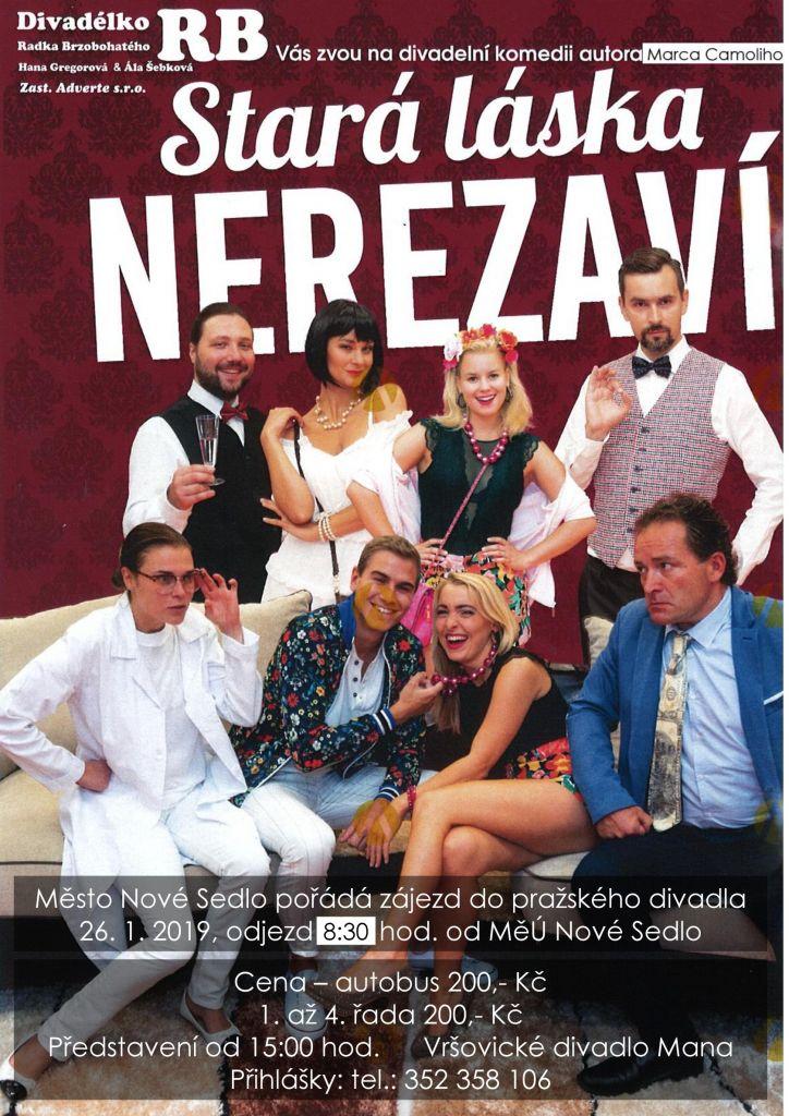 Zájezd - pražské divadlo 1